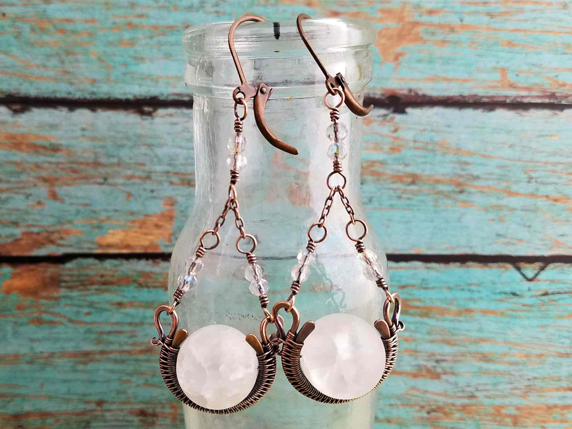 Door 44 Studios Chalice Earrings - Feature Image