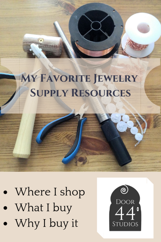 Are you wondering where to shop for wire weaving tools and supplies? In this post, I share all of my favorite sources. I'll tell you exactly where I shop, what I buy from each supplier, and why I choose these suppliers over many others.