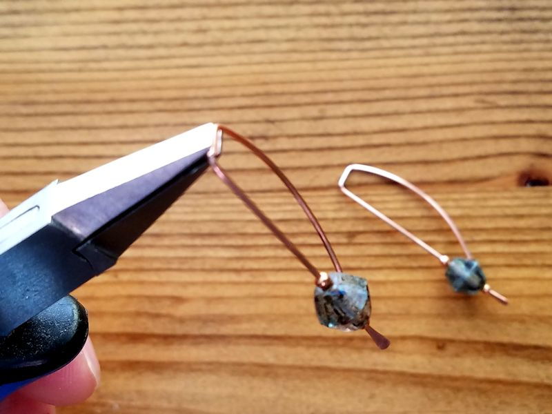 Quick Easy Stick Earrings You Can Make in Minutes - Step 6