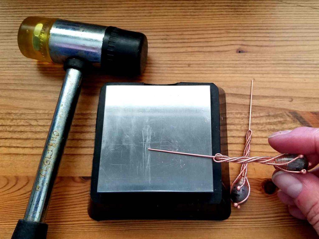 Door 44 Studios Twig Earrings Tutorial - Assembly Step 6