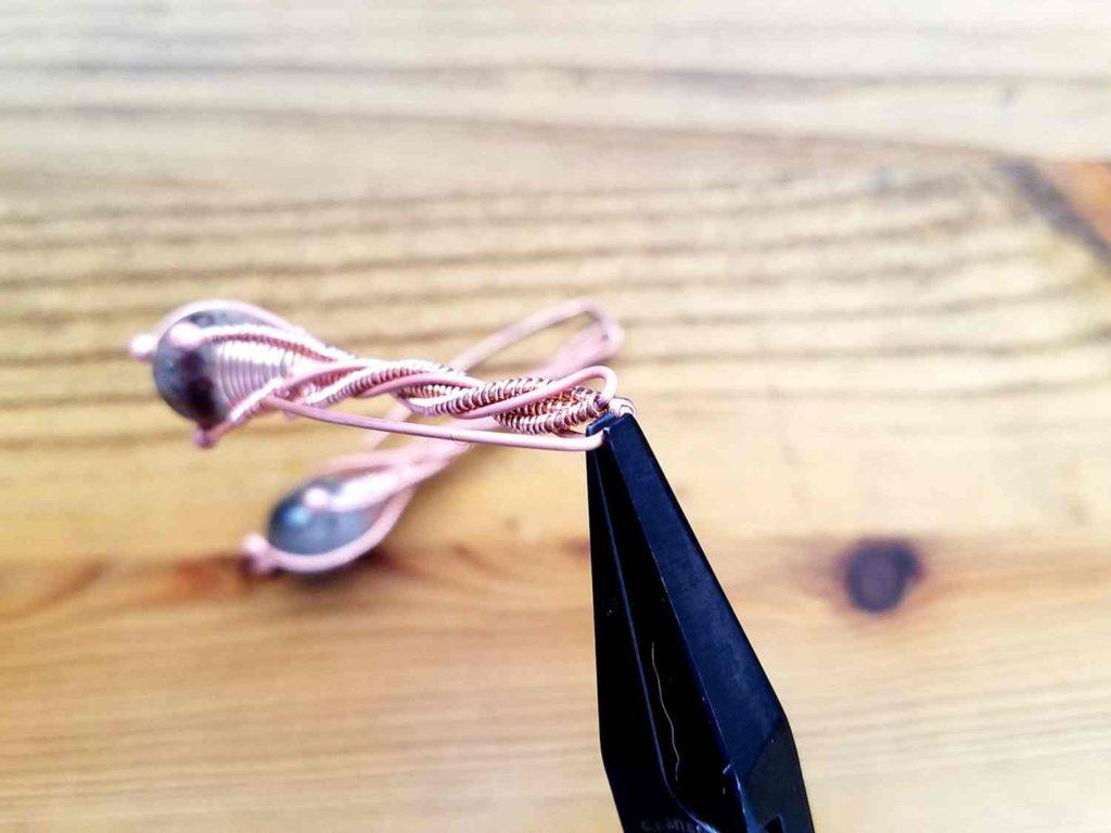 Door 44 Studios Twig Earrings Tutorial - Assembly Step 7