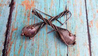 Door 44 Studios Twig Earrings Tutorial