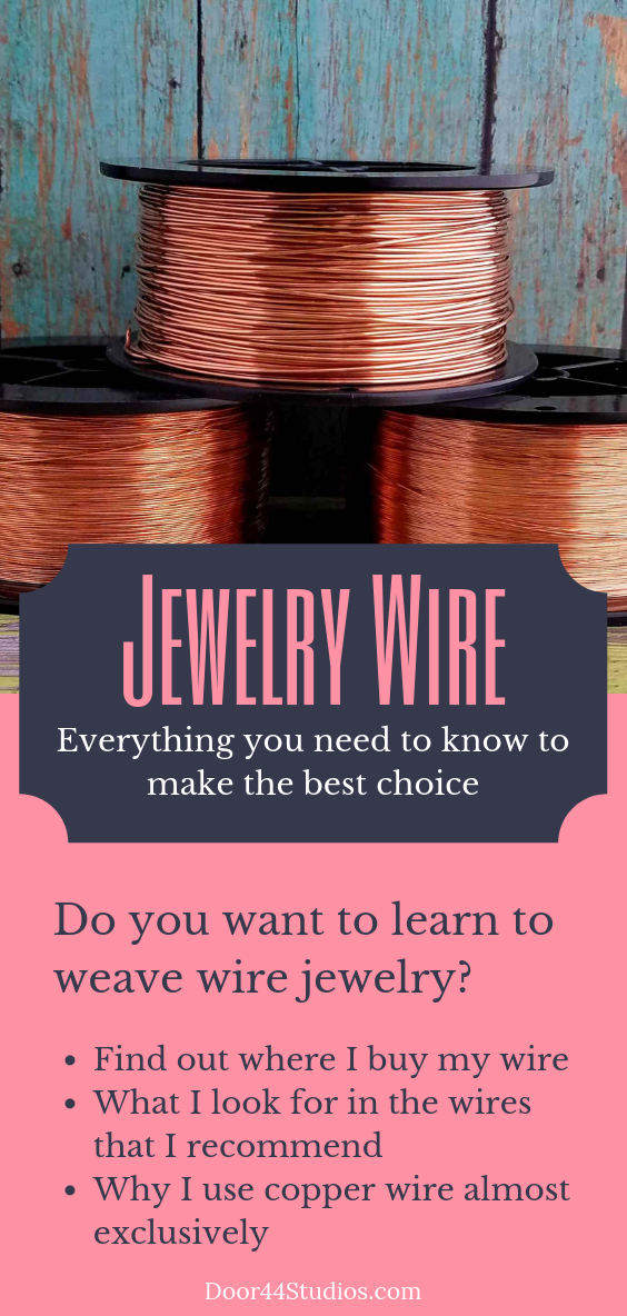 Jewelry Wire: How to make the best choices for making wire jewelry