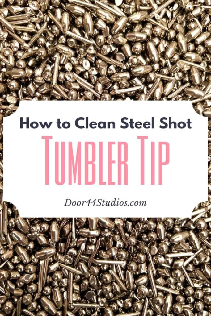 Did you know that you need to clean your stainless steel tumbler shot frequently? Clean shot results in a beautiful high-polish finish on your wire jewelry. Learn how to clean your steel shot in this free tutorial.
