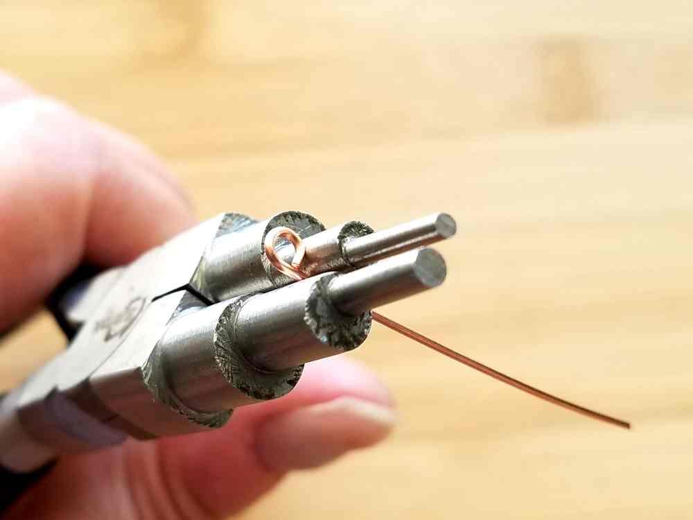 Step 5 - Prepare to make a 6mm simple loop