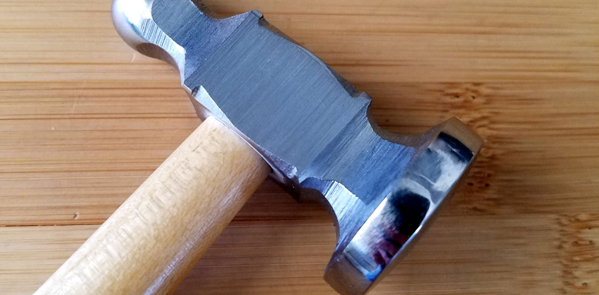 How to Use a Chasing Hammer - A free tutorial from Door 44 Studios - Cover Image