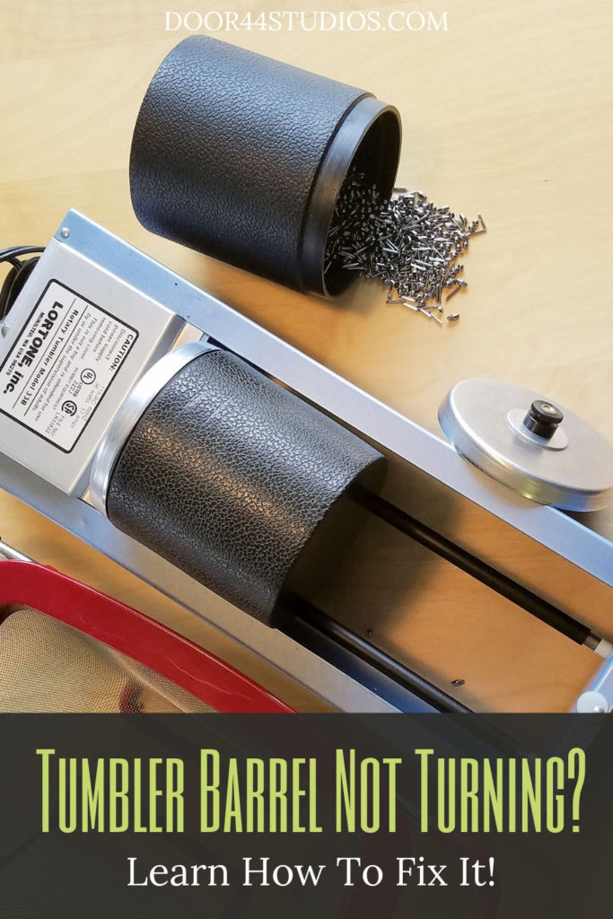 If you use your tumbler as often as I do, your barrels will inevitably stop turning. This is the result of normal wear and tear. And there's a quick and easy fix to get your barrels rolling again! Learn how in this free tutorial!