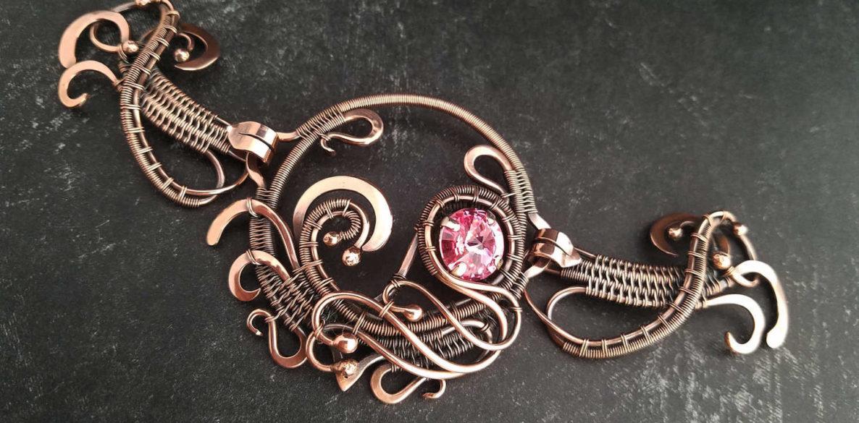 The Freyja Clasp - Designed by Wendi Reamy of Door 44 Studios