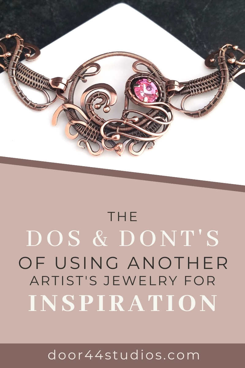 The Dos and Don'ts of Using Another Artist's Jewelry for Inspiration - Follow these eight tips to avoid being a copycat.