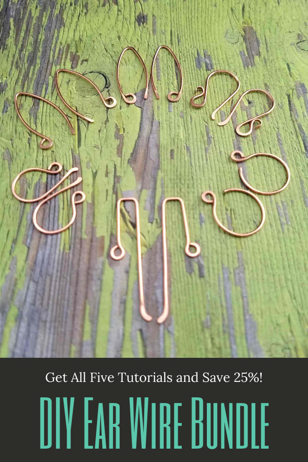 DIY Tutorial Bundle - 5 Ear Wire Styles for One Price!